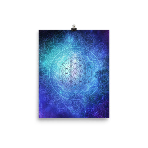 Deep Space Flower of Life Portal