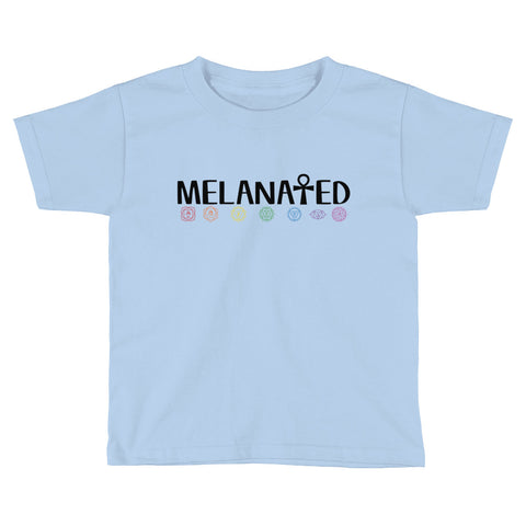 Melanated Kids Short Sleeve T-Shirt