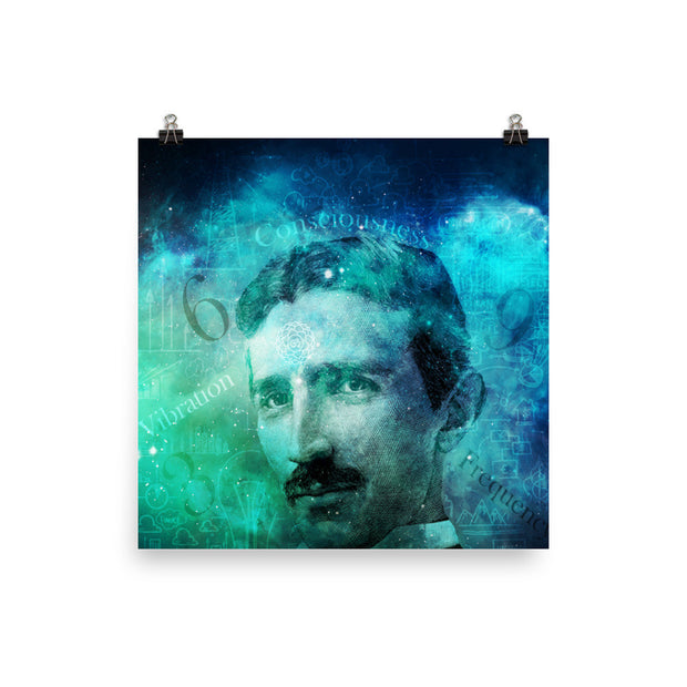 Tribute to Tesla - Poster