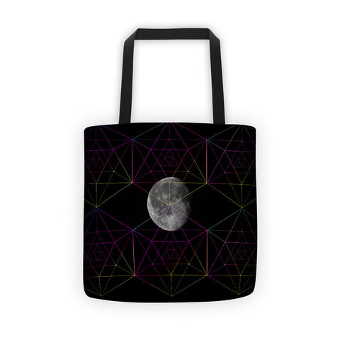Geometric Moon - Tote bag