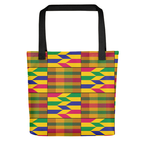 African Kente Pattern Tote bag - Style 2