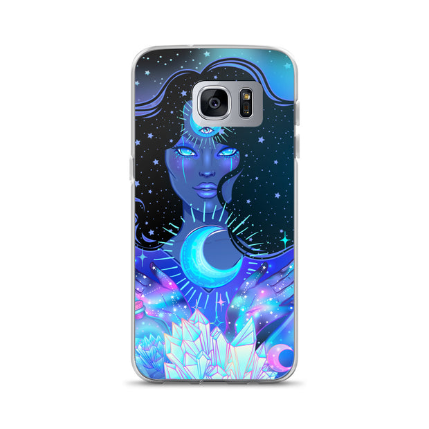 Nocturnal Goddess Cosmic Samsung Case