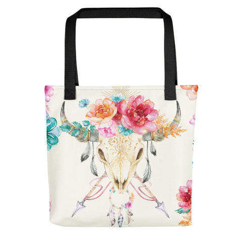 Watercolor Boho Tote bag