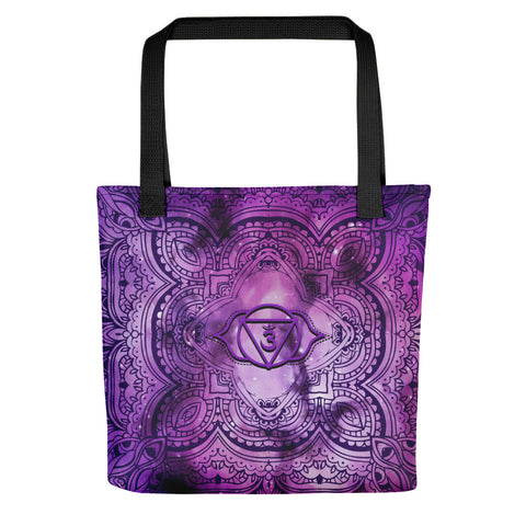 Cosmic Purple 3rd Eye Chakra Tote bag