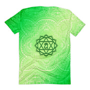Fourth Green Anahata Heart Chakra  Women's T-shirt