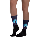 Divine Feminine Black foot socks