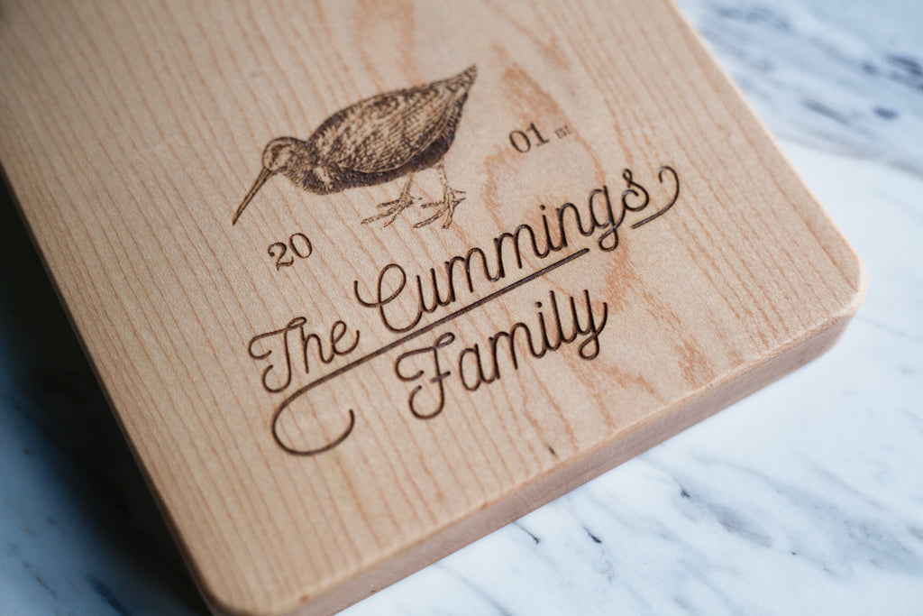 Custom Engraving - Laser Engraving for Cutting Board, Personalized (Board Not Included)