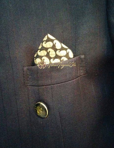 Brocade Pocket Square
