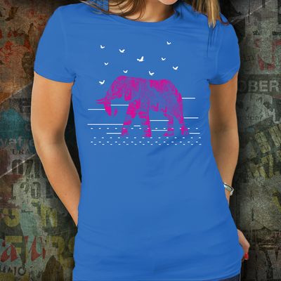 Red Elephant Tshirt