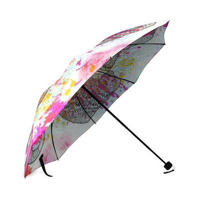 Colorful Elephant Foldable Umbrella