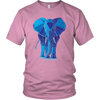 Blue Diamond Elephant Shirt