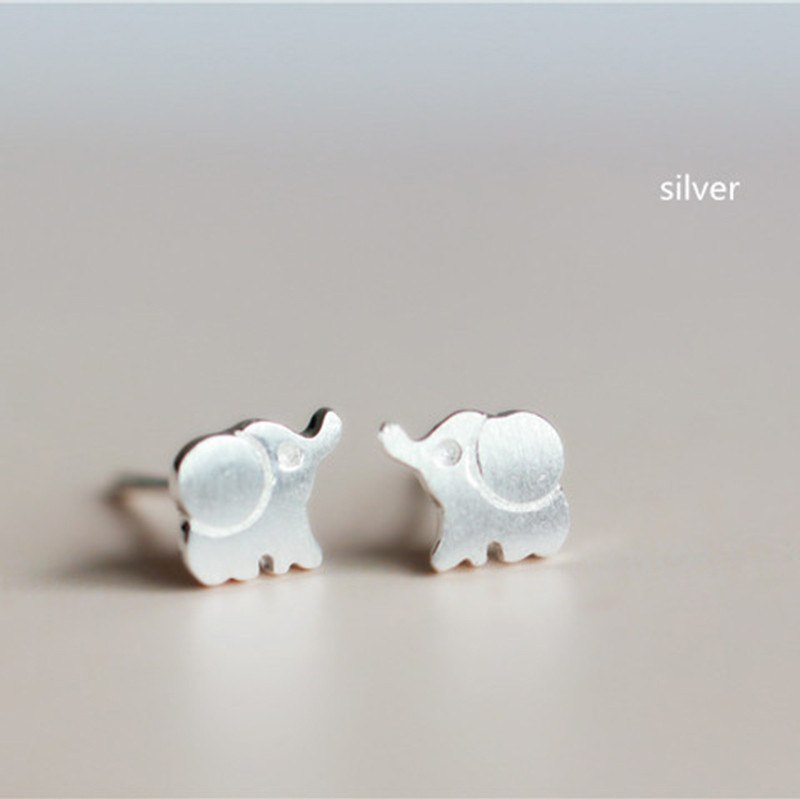 Ring - Sterling Silver Elephant Earrings