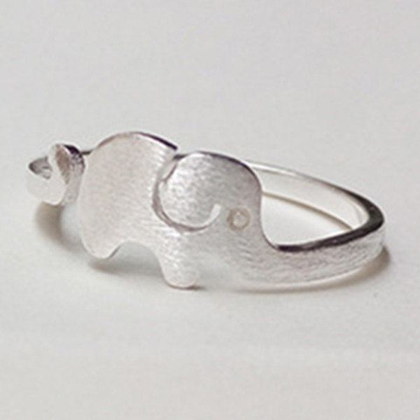 Ring - Sterling Silver Elephant Ring