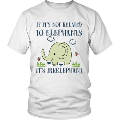 Elephant Irrelephant Tshirt