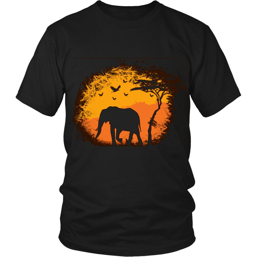 T-shirt - Elephant Savanna Tshirt