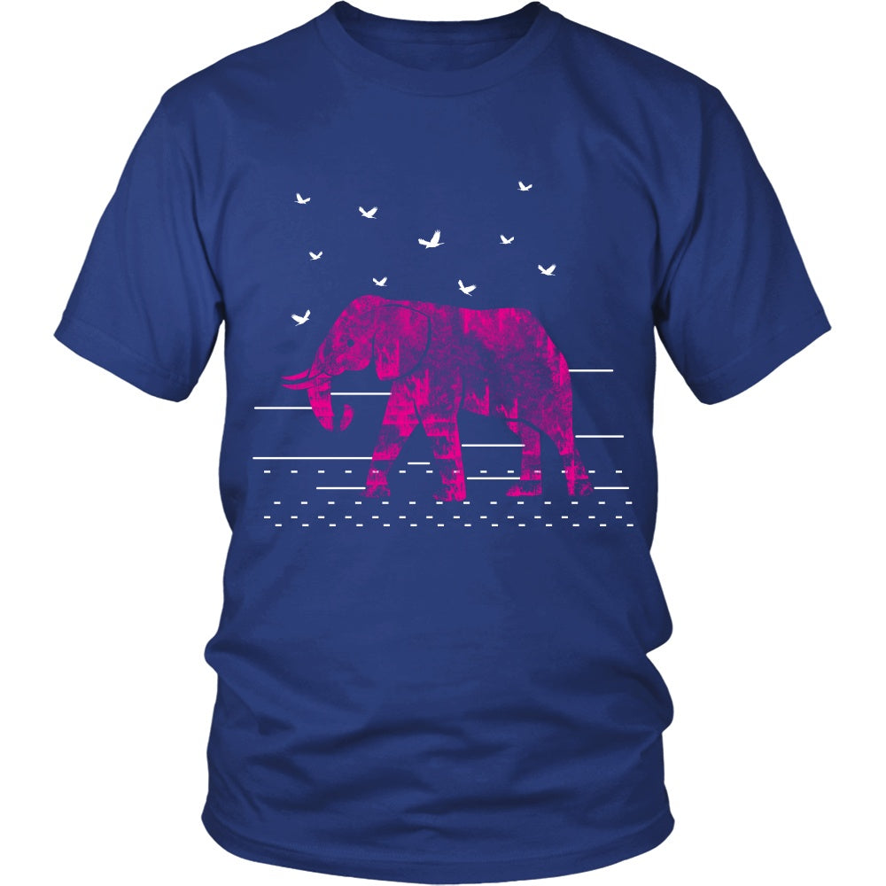 T-shirt - Red Elephant Tshirt