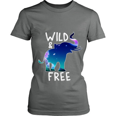 T-shirt - Wild And Free Womens Tshirt