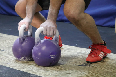 How To Chalk Your Kettlebell Like A Pro