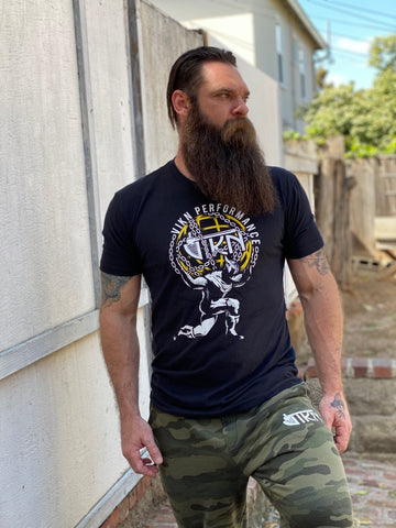 Strongman Yellow Atlas Tee