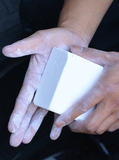 applying VIKN Block Chalk to hands