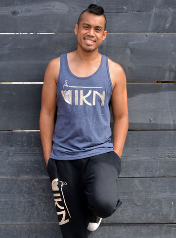 Classic Jersey Tank (Navy Heather)