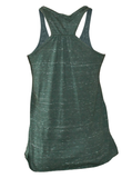 Triblend Racerback Tank (Emerald Heather)
