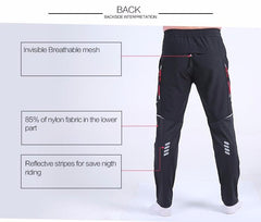 Dry Anti-sweat Breathable Pockets Bicycle Trousers