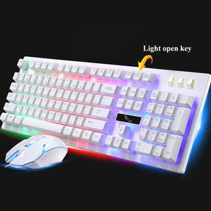 Pro Gaming Keyboard With 2000 DPI Mouse Set