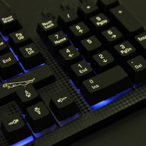 Backlight LED Pro Gaming Keyboard USB Wired With 2000 DPI Mouse For Computer Gamers