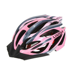 Lixada Outdoor Sports Adjustable Mtb/Road Mountain Bike Bicycle Helmet 21 Vents Ultralight Integrally-molded EPS Cycling Helmet