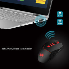 Wireless Mouse For MMO Pro Gamers