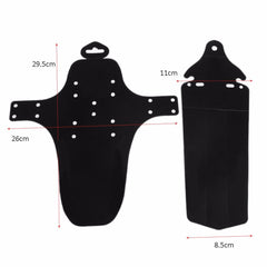 2Pcs Bicycle Front & Rear Mudguard Fenders