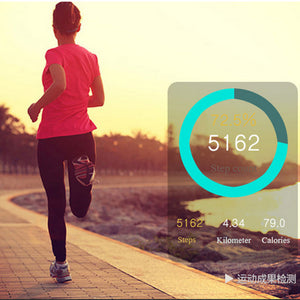 Smart Bracelet Fitness Tracker Step Counter Activity Monitor Band Alarm Clock Vibration Wristband for iphone & Android