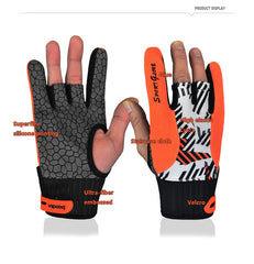 Professional Anti-Skid Bowling Gloves