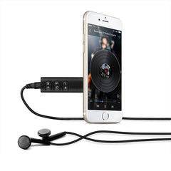 Universal 3.5mm Jack Bluetooth Car Kit Hands-Free Audio Receiver