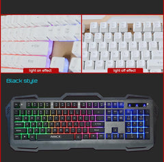 Metal Panel Keyboard with Backlight