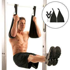 Hanging Ab Straps With Quick Locks