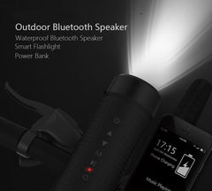 Waterproof Portable Bluetooth Speaker - With Bike Mount