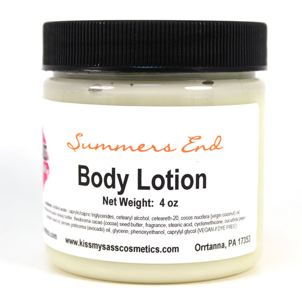 Body Lotion: Summers End