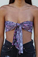 Floral Tie Top Clearance