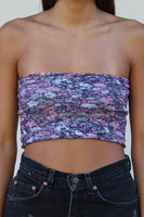 Floral Tube Top Clearance