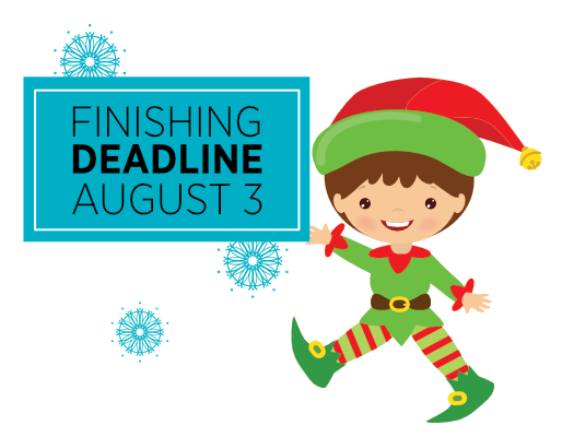Finishing Deadline is Coming Up!