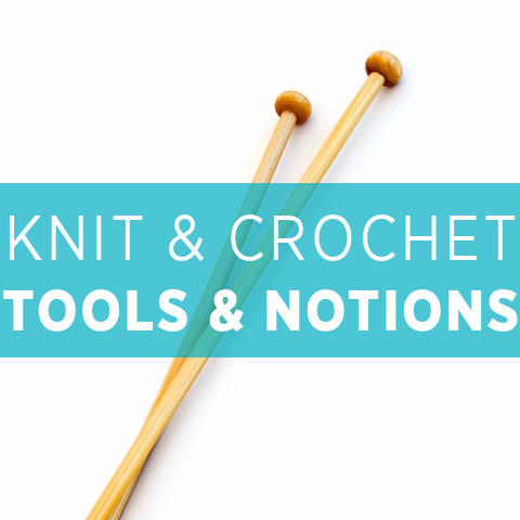 knitting & crochet tools & notions