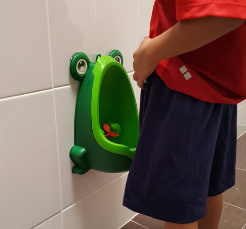 Potty Trainers - Frog Potty Urinal For Boys