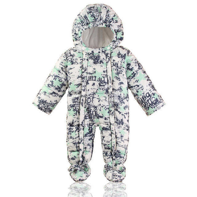 Little Shredder Baby Snowsuit