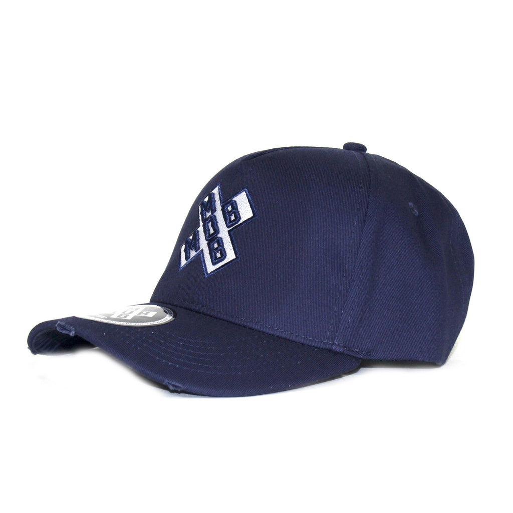 SIGNATURE MOB BASEBALL CAP (NAVY)
