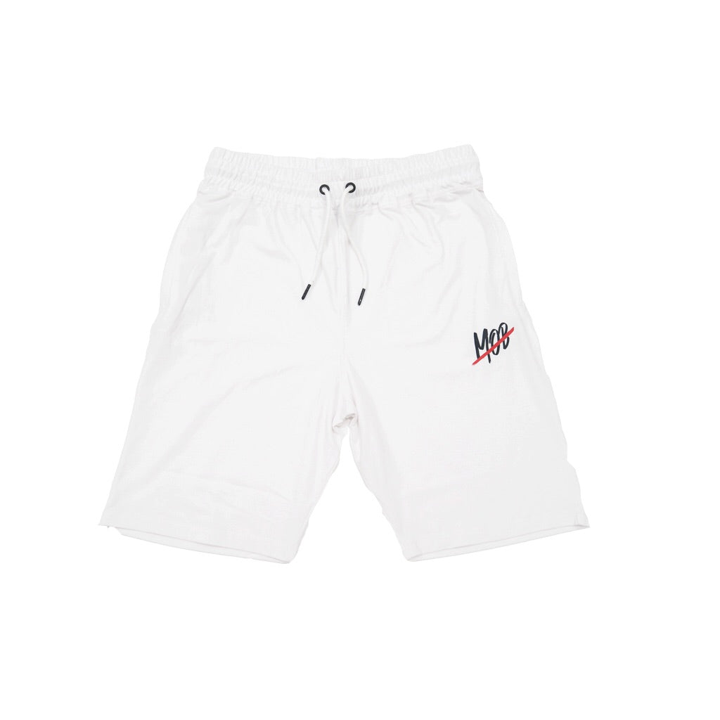 MOB SLASH SHORTS (WHITE)