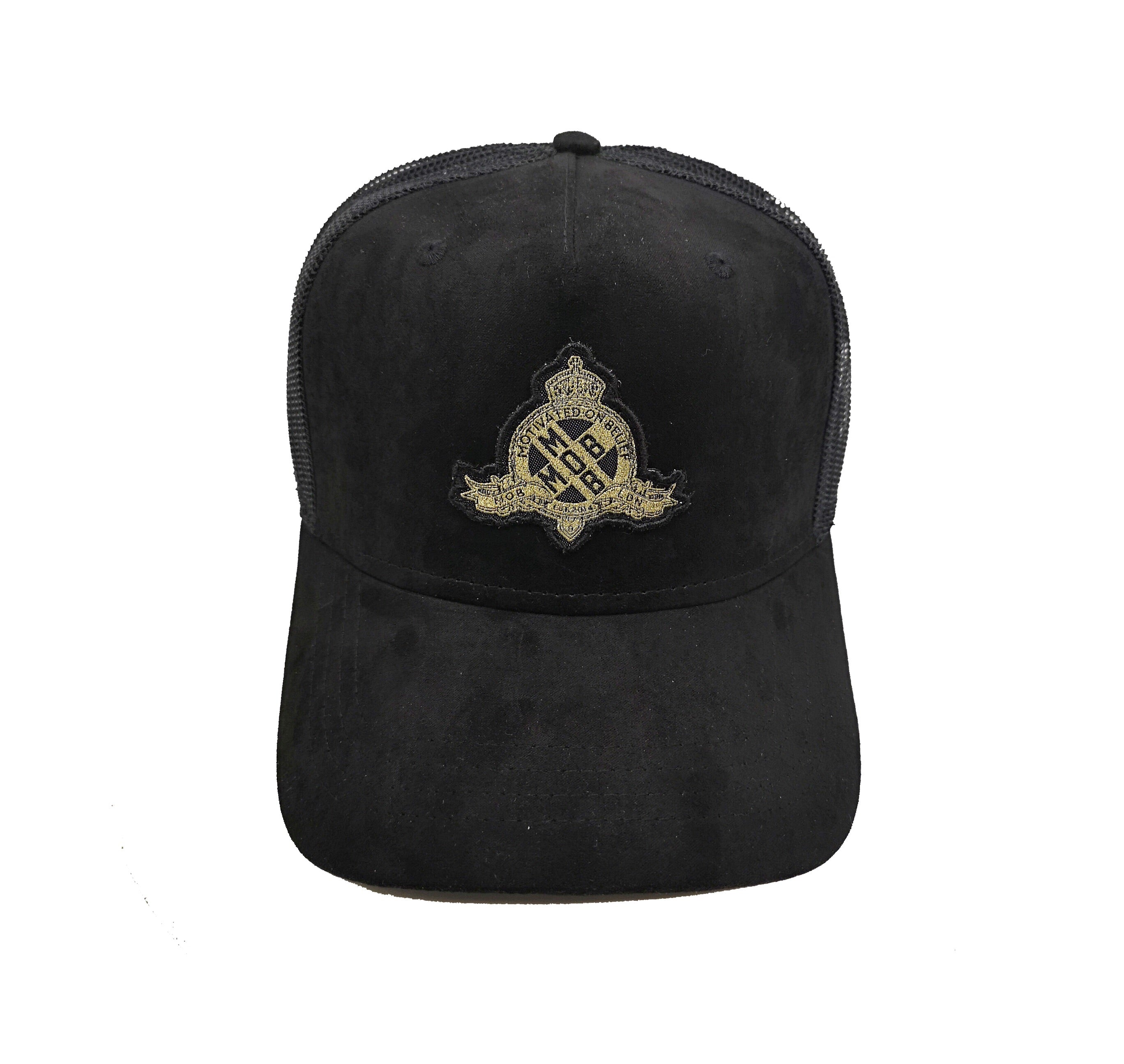 Royal X Emblem Trucker CAP (Black)