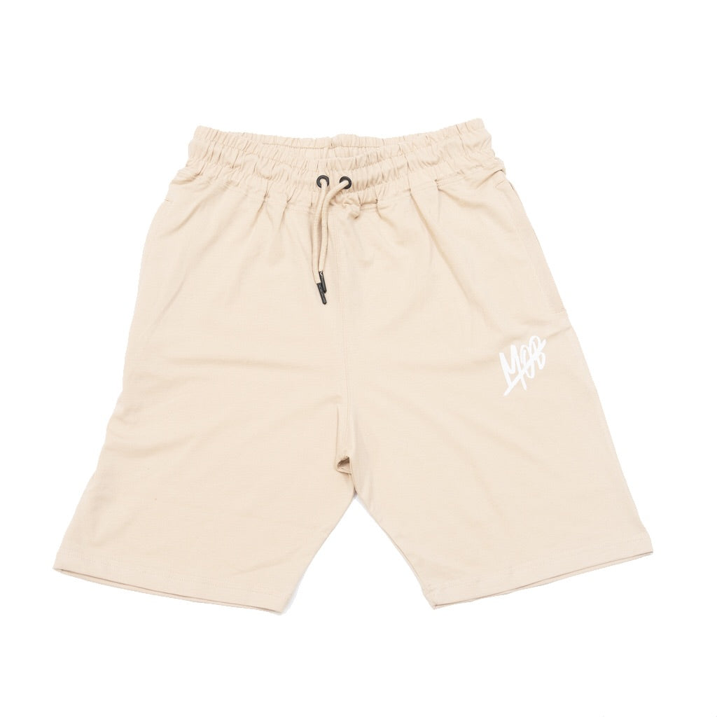 MOB SLASH SHORTS (BEIGE)