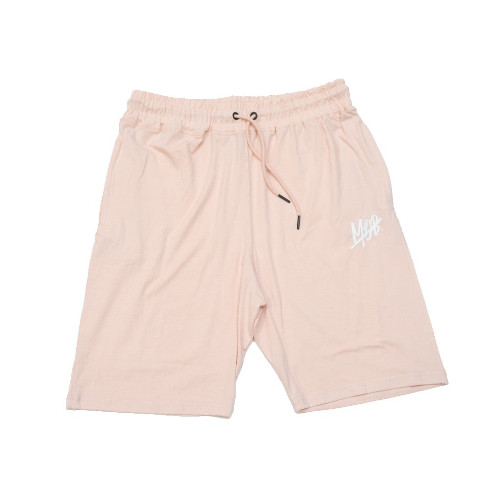 MOB SLASH SHORTS (SALMON) SLIM FIT